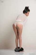 Eden Arya In White Shirt-02
