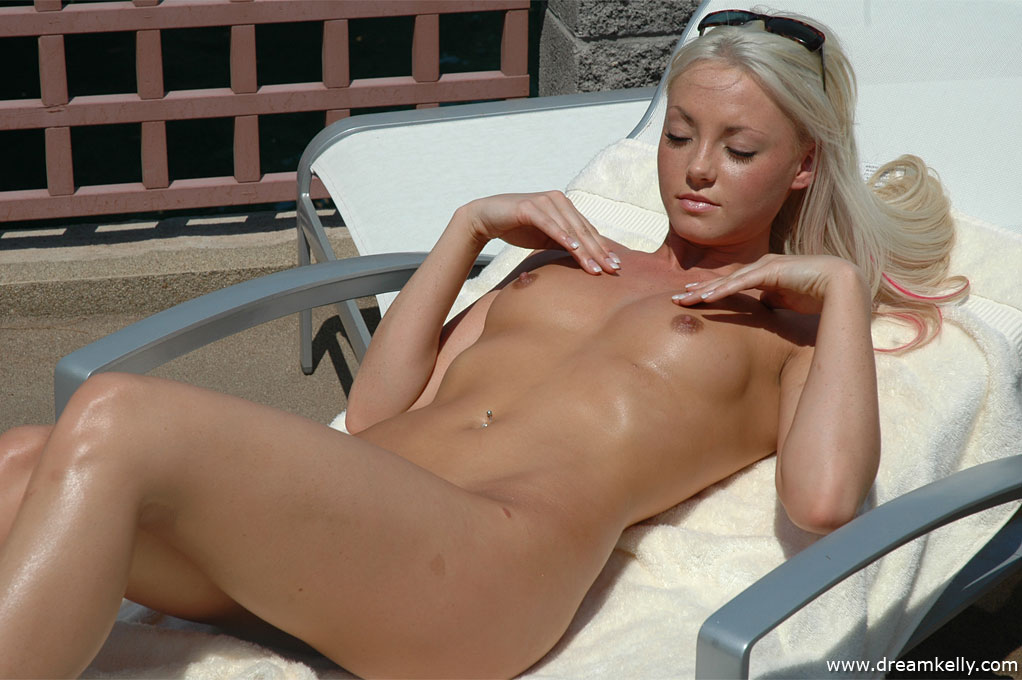 Neighbor nude sunbathing