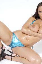 Carmella Bing oiled up pics-05