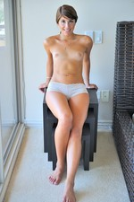 Melina gets naked and plays-11