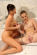 Bathing teens tongue fresh pussies-11