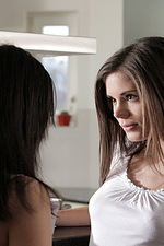 Lesbian sex with Little Caprice-00