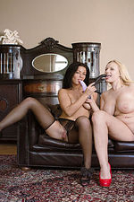 Lesbian Girls Playing For Us-12