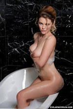 Ora Young Takes A Hot Bath-12