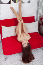 Cute Brunette Teen Gingering Her Tight Pussy-00