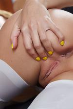 Mango Posing In Sexy Stockings-03
