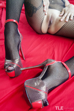 Pleasure In Fishnet-14