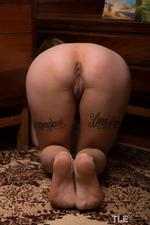 Tattooed Chick Gets Naughty-10