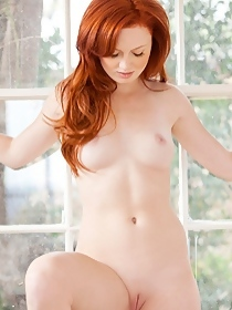 Sexy redhead Molly