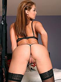 Valentina In Hot Stockings