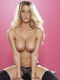Busty Blondie Danica
