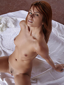 Naked Redhead Teen Kami