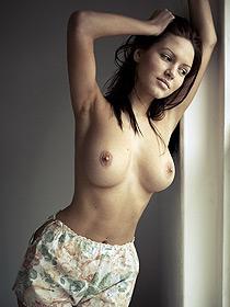 Damn Sexy Brunette Sabine