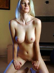 Busty Blonde Mariah