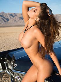 Chelsie Aryn Posing For Playboy Outdoor