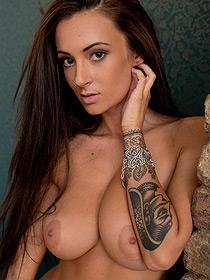 Busty Tattooed Alice Sey