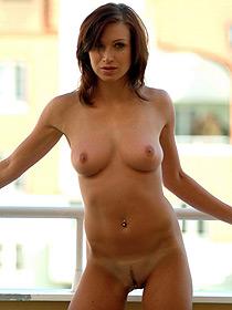 Alena Is Nude At Home
