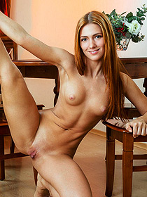Lovely Playful Teen