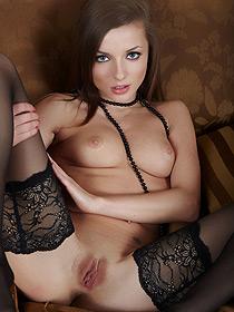 Alyssa In Hot Stockings