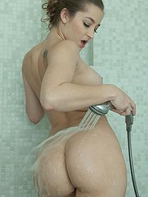 Dani Takes A Hot Shower