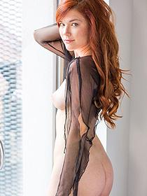 Damn Hot Redhead Mia Sollis