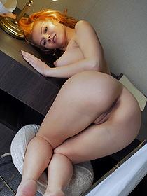 Lovely Redhead Chick Zarina