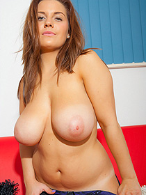 Busty Hannah Sharp