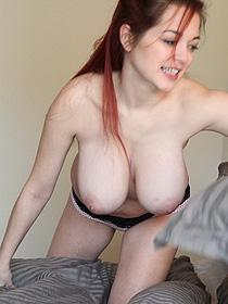 Busty Playful Redhead Tessa