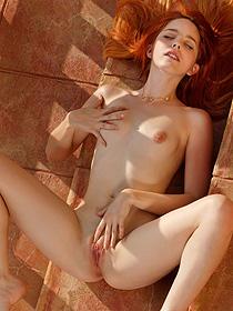Redhead Girl Amarna Miller