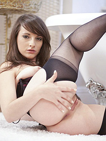 Chloe In Sexy Stockings