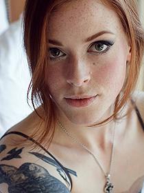 Tatooed Redhead Anna Lee