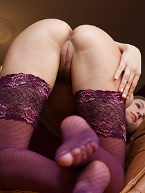 Aurika In Sexy Stockings