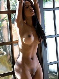 Alyssa Lee Takes Off Her Panties