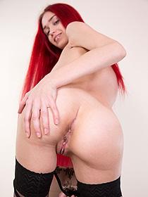 Redhead Teen Inessa