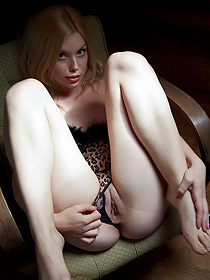 Redhead Chick Kala Shows Her Tight Pussy