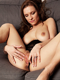 Busty Daisy Playing With Her Sweet Pussy