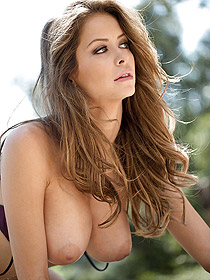 Pretty Busty Babe Emily Addison