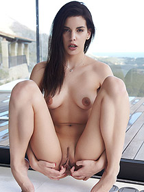 Candice Luka Is Naked In A Hotel Room