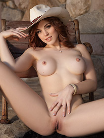 Molly Stewart Posing For Playboy