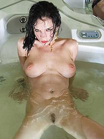 Jenya Takes A Hot Bath