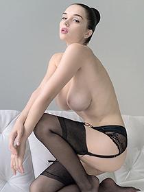 Eugenia Posing In Stockings