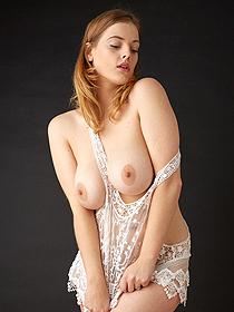 Beautiful Busty Redhead Delina