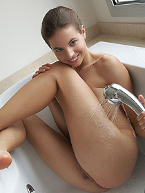 Antea Takes A Hot Shower