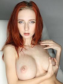 Busty Redhead Helga