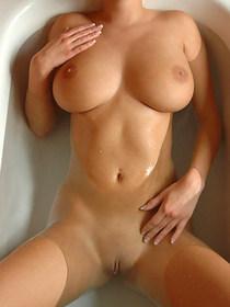 Wet big boobs
