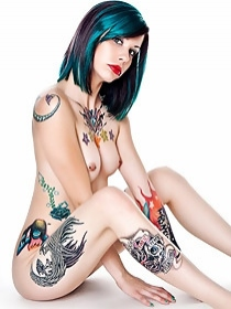Tattooed honey
