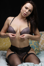 Sexy Aidra Playing In Stockings-08