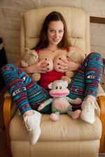 Busty Natalie Moore-00
