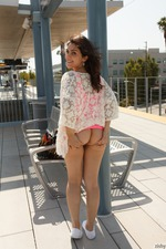 Valentina Nappi Flashing Her Big Boobs In Public-04